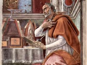 Sandro Botticelli, Sant'Agostino nello studio