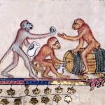 Scimmie ubriache