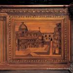 Veduta dell'abside del Duomo e della Torre - coro ligneo