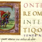 Enea fugge da Troia con Anchise e Ascanio