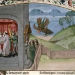 Il combattimento di Morbidus contro il mostro marino (1471-1481)