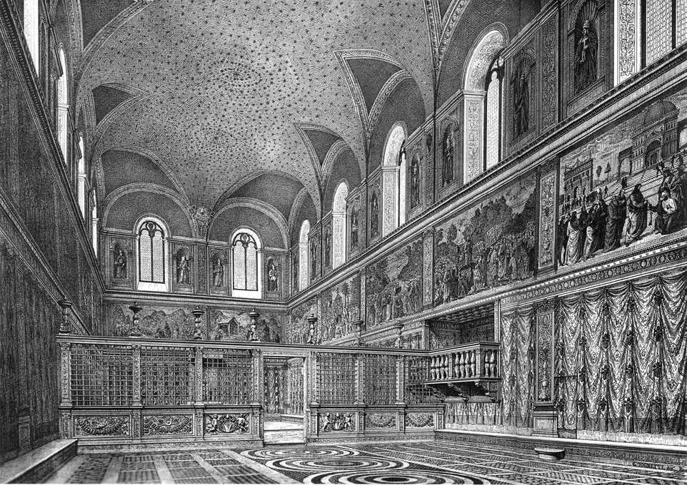Cappella sistina prima di michelangelo for Piani di fattoria del 19 secolo