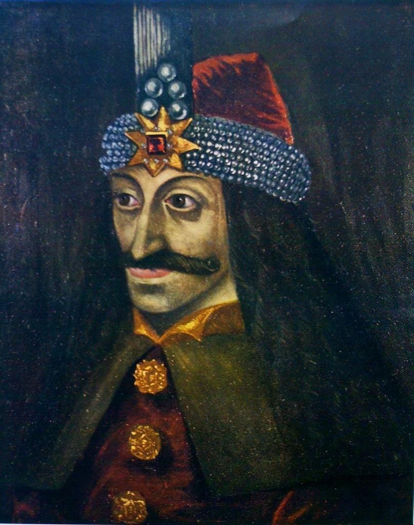 Vlad III in un ritratto della metà del XVI secolo, probabilmente copia di un suo ritratto dal vero andato perduto.