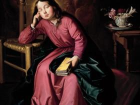 Francisco de Zurbarán, Vergine bambina addormentata