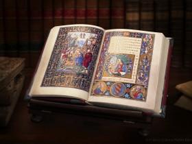 Libro d'Ore del Perugino aperto