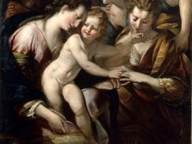 """G.C. Procaccini, """"Sposalizio mistico di Santa Caterina"""""""