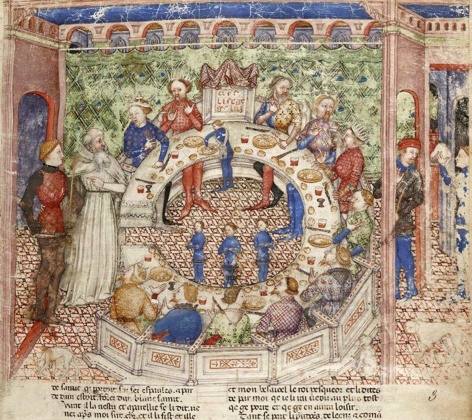 Tutti a tavola rotonda folia - Numero cavalieri tavola rotonda ...