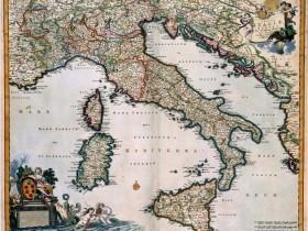 Carta della penisola italiana, Nederlands Scheepvaartmuseum, Amsterdam.