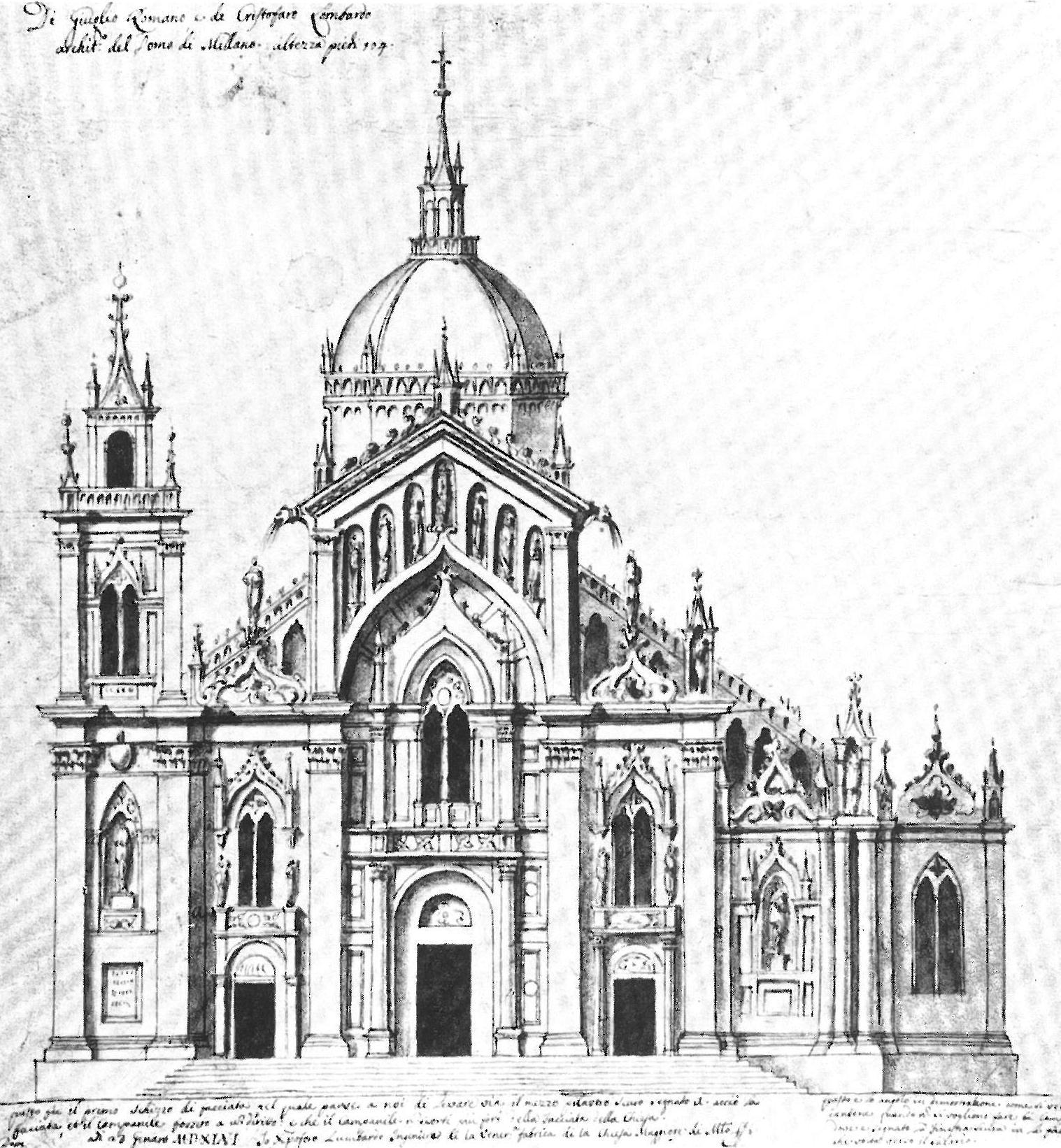 San Petronio A Bologna I Progetti Per Completarla