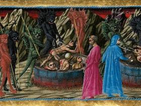 Inferno, Canto XXII. La beffa del dannato