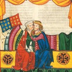 All you need is love - 'Codice Manesse' (1304-1340 circa), Biblioteca dell'università di Heidelberg.