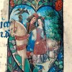 Un cuore per due - Libro d'Ore (antecedente al 1498), Bibliothèque municipale, Besançon.