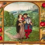 Passeggiata romantica - Libro d'Ore 133 D 11 (1500-1525), Koninklijke Bibliotheek, L'Aia.