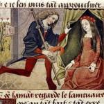 L'amante ritrovata - 'Roman de la Rose' (fine XV secolo), Bodleian Library, Oxford.
