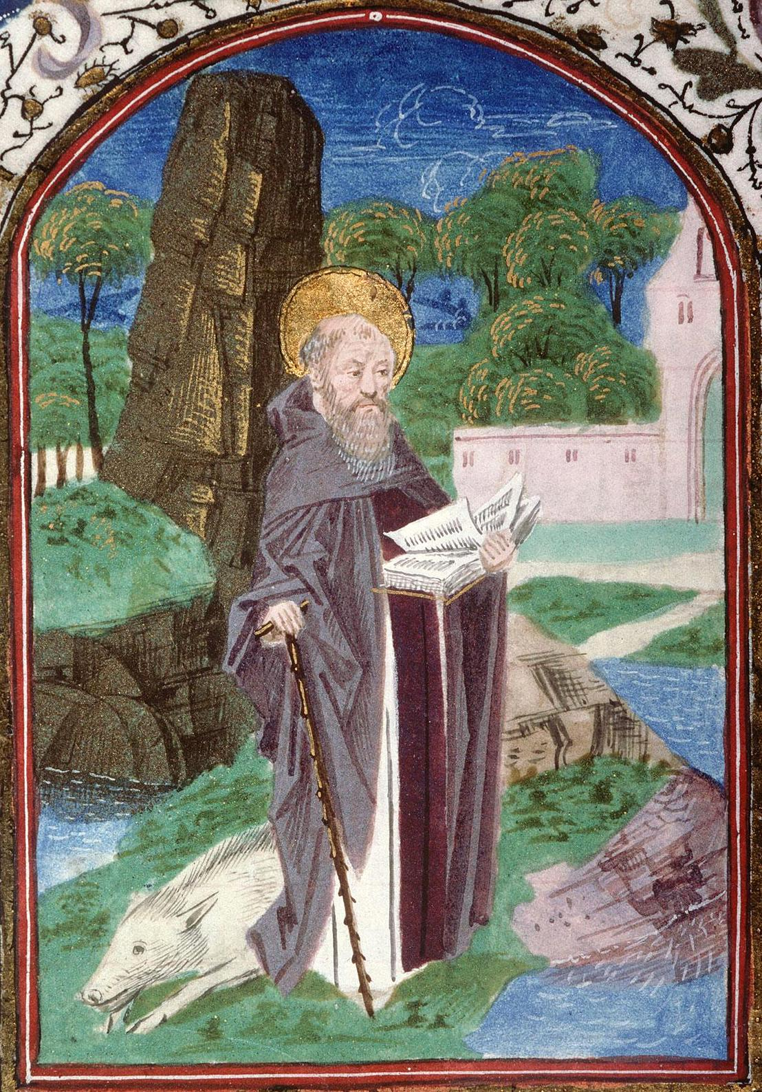 Sant 39 antonio simboli e curiosit dell 39 eremita amico dei for Arredo bimbo sant antonio abate