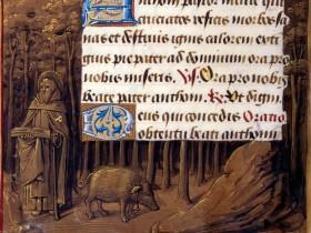 Miniatura tratta dal 'Libro d'Ore di Enrico VIII' (1500 circa), The Morgan Library & Museum