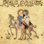 Sultans in love - Maqamat al-Hariri (XIII secolo), Bibliothèque nationale de France, Parigi.