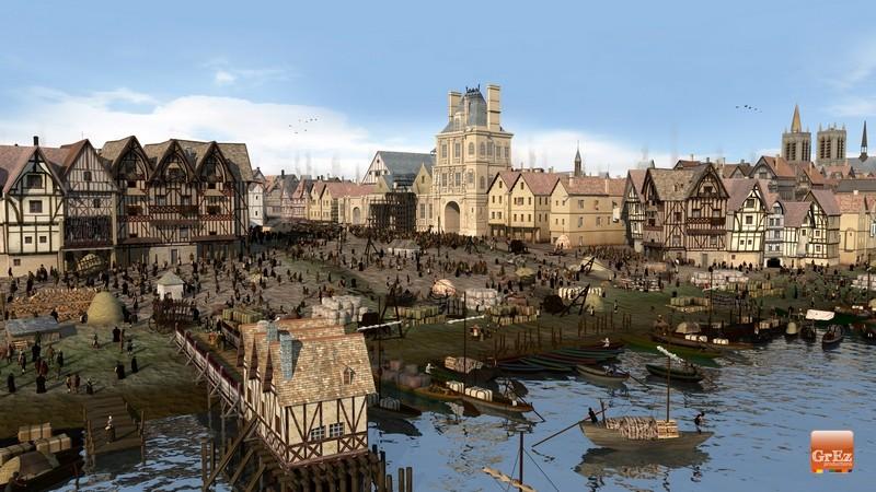 Parigi Nel Medioevo Una Spettacolare Ricostruzione 3d