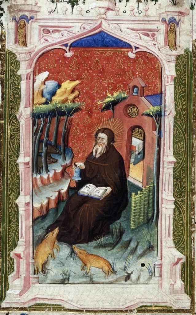 Miniatura tratta dalle Ore Beaufort-Beauchamp (1430-1443), British Library