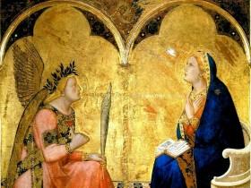 Ambrogio Lorenzetti, Annunciazione tagliata