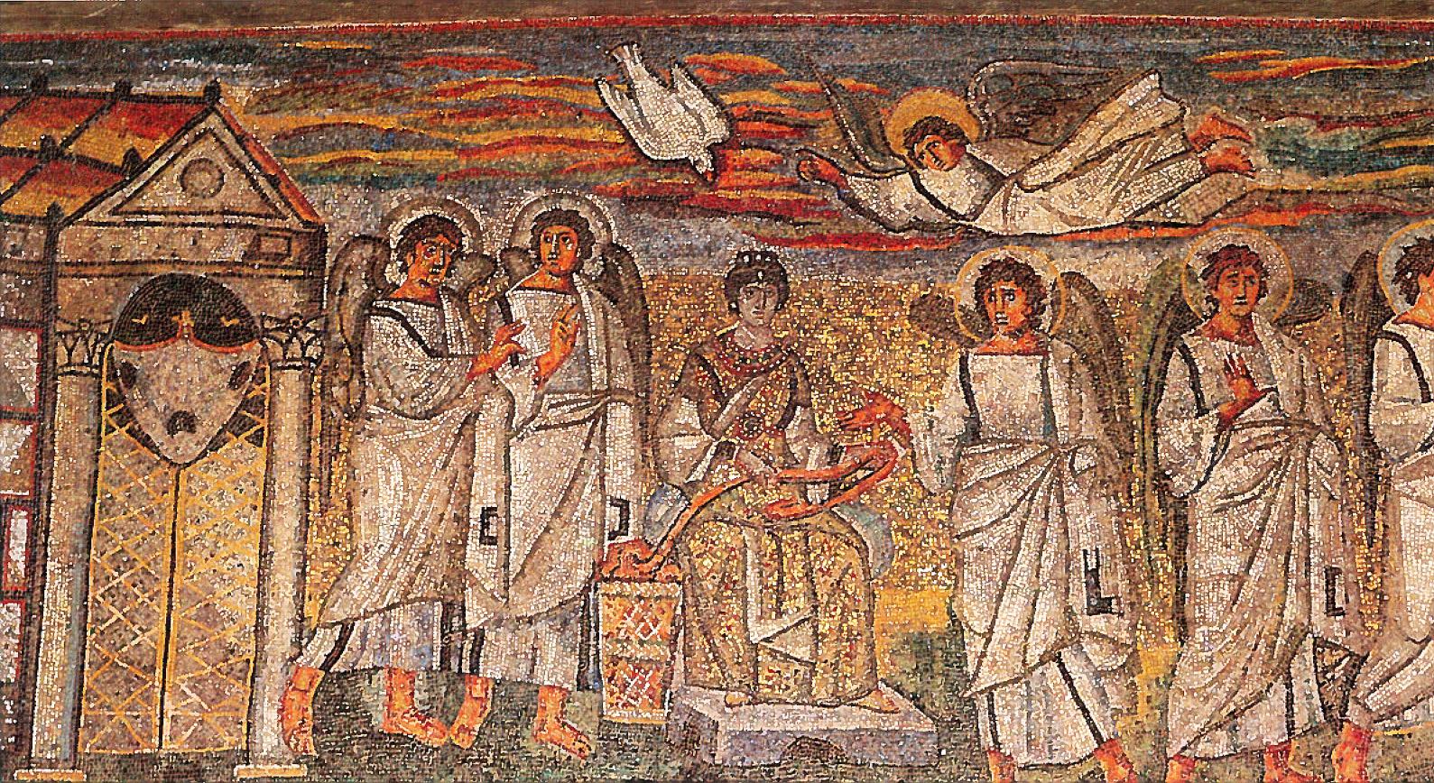 サンタ・マリア・マジョーレ大聖堂のモザイク画