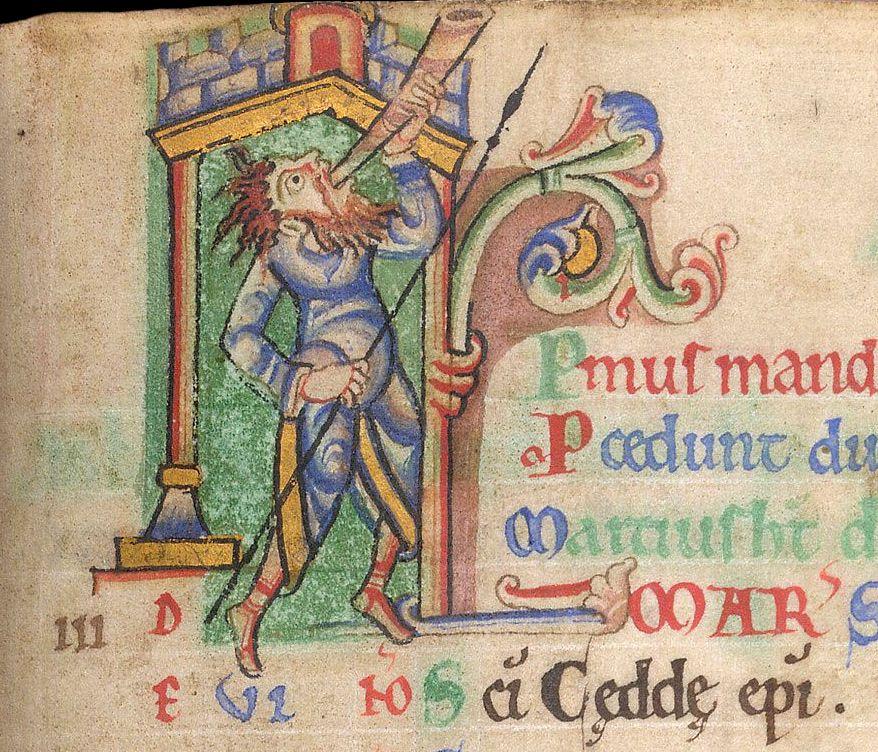 Iconografia mese di marzo nel Medioevo