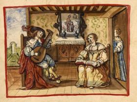 Concertino casalingo - Abbeville, Bibl. mun., ms. 0500