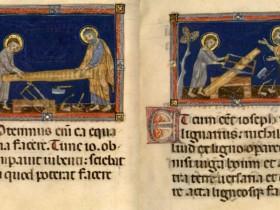 Gesù aiuta san Giuseppe