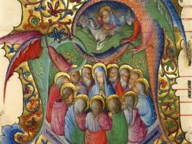 Estratto da Antifonario (Lombardia, 1430 - 1435), Getty Museum