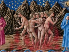 113v - Lussuriosi e sodomiti