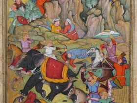 Timur_defeats_the_sultan_of_Delhi