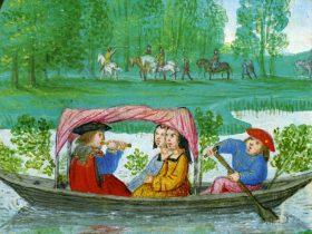 [Clio Team] 1501-1525 Promenade au fil de l'eau, Livre d'Heures _ l'usage de Rome, par Simon Bening, Rouen