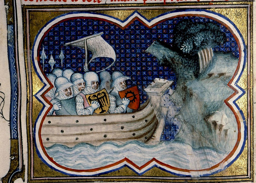 Flotta spartana di Cleonimo approda in Italia