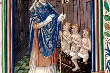 San Nicola e i tre bambini