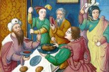 Giosia celebra la Pasqua