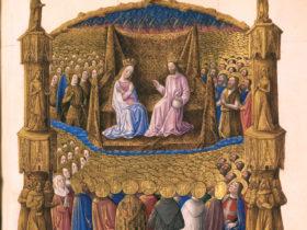Très Riches Heures du Duc de Berry, Ms. 65, c. 126r, Bibliothèque du Château de Chantilly.
